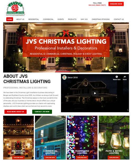 JVS Christmas Lighting